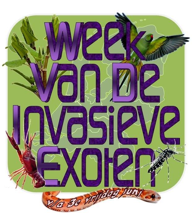Week van de invasieve exoten