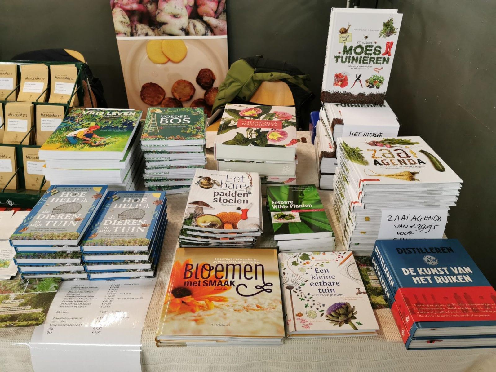 Groensmoesmarkt 2020 – goede boeken
